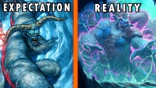 Hearthstone Expectation vs Reality - The Caverns Below