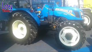 New Holland 6010 ! 4×4 ! Tractor review ! Exhibition