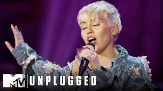 "Miley Cyrus Performs ""Adore You"" 2014 Unplugged Special 