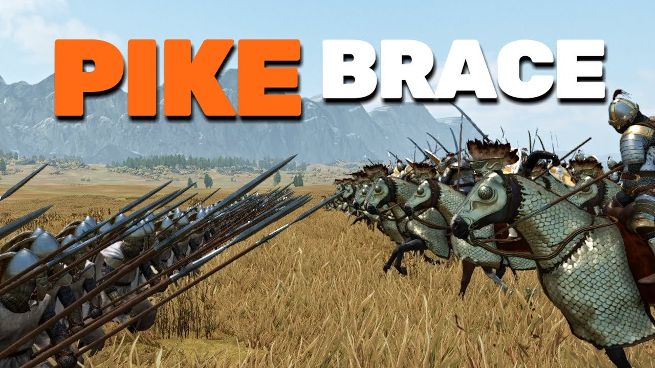 What units can PIKE BRACE in Bannerlord? (Spear Bracing)