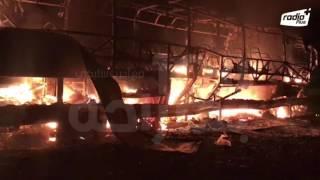 فاجعة بالمغرب.. مصرع عشرة أشخاص على الأقل حرقا وإصابة آخرين في حادثة سيرمصرع 10 أشخاص حرقا بحادثة سير في المغرب