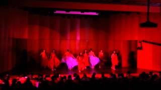 İstanbul Üniversitesi Dans Klübü Modern Dans Gösterisi Ateş ve Su BÜDans Festivali 2013