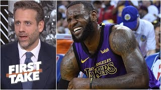 Lakers aren't good enough to win without LeBron James - Max Kellerman l First Take