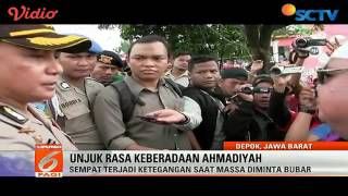 Ahmadiyya Mosque sealed in Depok, Indonesia by Police 24 Feb 2017