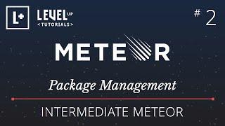 Intermediate Meteor Tutorial #2 - Package Management
