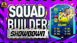 Fifa 20 Squad Builder Showdown Lockdown Edition!!! TEAM OF THE SEASON ERLING HALAND!!!