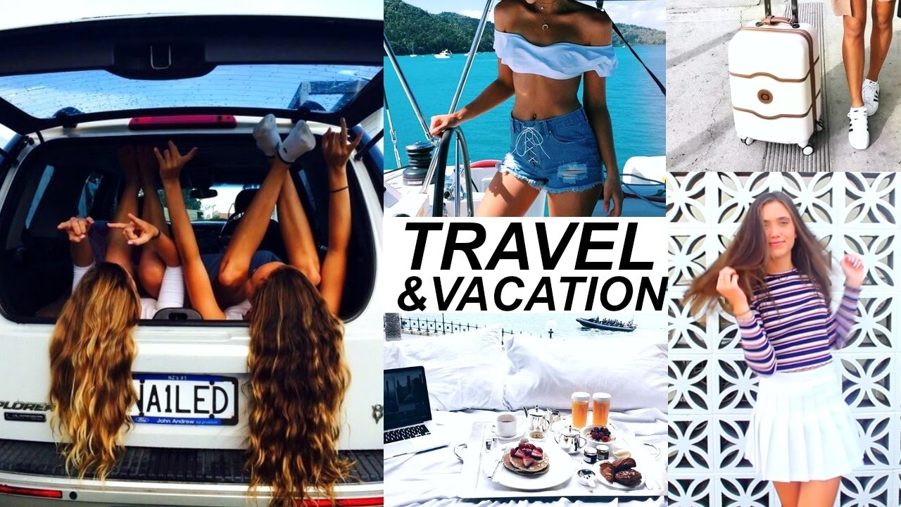 Best Outfit Ideas for Vacation and Travel 2017
