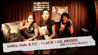 BLACK VEIL BRIDES: WILD NEW Album Interview, Working with Bob Rock!