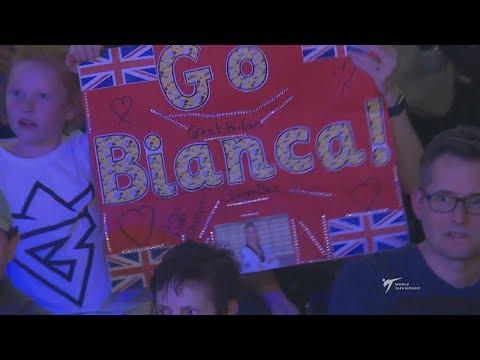 Final F+67 London 2017 World Taekwondo Grand Prix Bianca WALKDEN (GBR) vs Alexandra KOWALCZUK (POL)