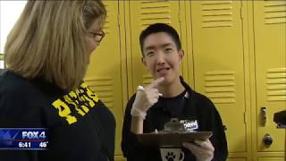 Plano East Special Ed students become baristas for