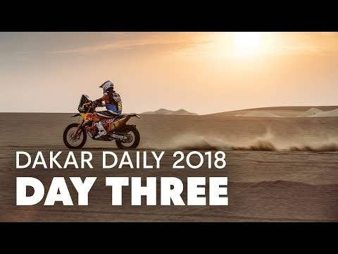 Day 3: Sunderland Takes Control | Dakar Daily 2018
