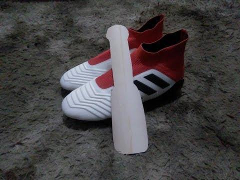 Como Fazer uma calçadeira com cano PVC para Chuteira cano Alto(Botinha) -  vidbyte c68070d73d267