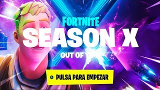 PLAYING THE *X SEASON * FORTNITE + *10 FREE BATTLE PASSES*