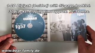 Eddie Cochran - The Year 1957 (CD) Bear Family Records