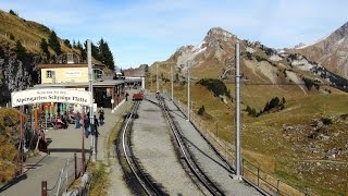 Scenic - Schynige Platte Railway for a view from the top of the world (Switzerland) thumbnail