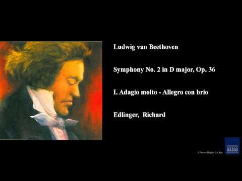 Ludwig van Beethoven, Symphony No. 2 in D major, Op. 36, I. Adagio molto - Allegro con brio