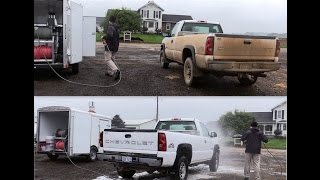 2-Step Touchless Wash Soap Demo | Cleaning Filthy Farm Truck | No Brushing