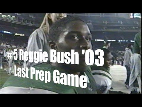 Reggie Bush's '03 Last Prep Game, CIF Final vs. Oceanside, 1