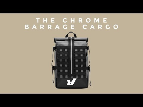 The Chrome Barrage Cargo Backpack