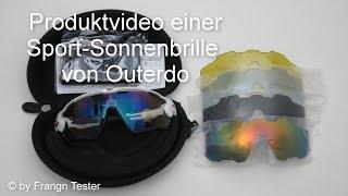 427 - Fahrrad-Sonnenbrille - von OUTERDO