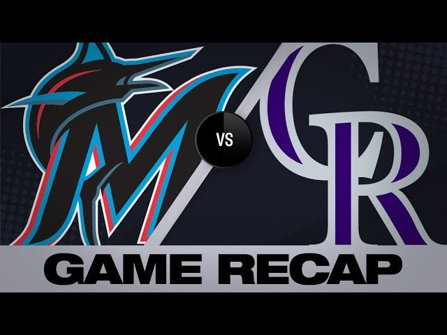 Hampson lifts Rockies in 7-6 walk-off win | Marlins-Rockies  Game Highlights 8/18/19