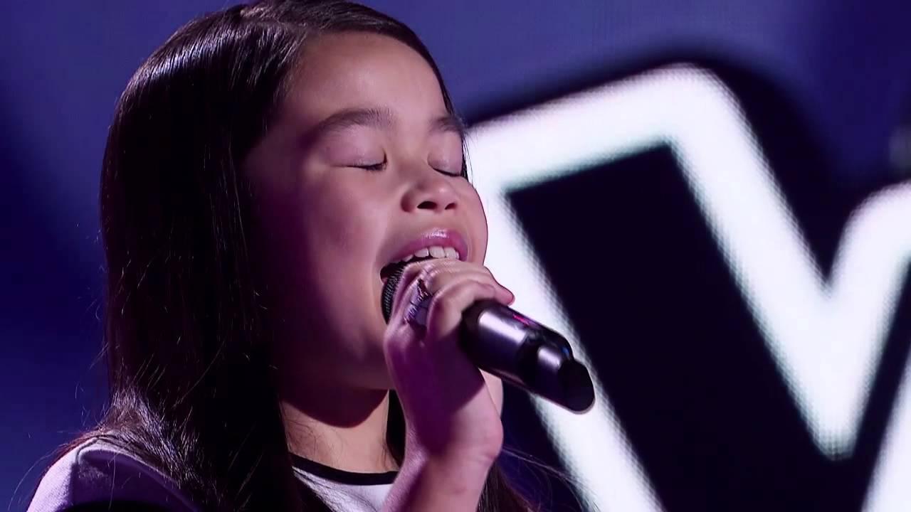 Trinity Sings Loving You   The Voice Kids Australia 2014