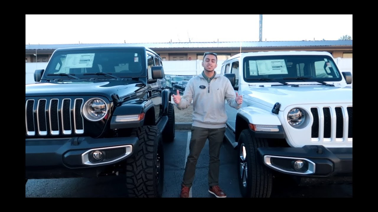 2018 Custom Lifted Jeep Wrangler Jl 35 Inch Tires Youtube