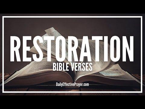 Bible Verses On Restoration | Scriptures For Restoration (Audio Bible)