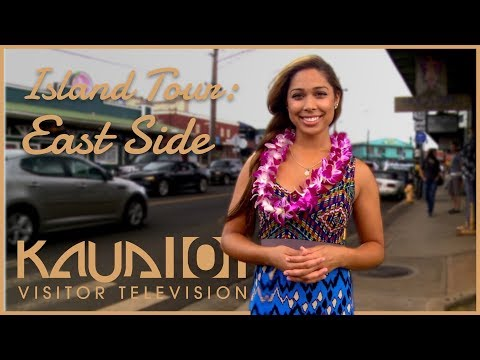 Kaua'i Island Tour - Part 05 - East Shore, Kapa'a, Wailuā, Anahola - Kaua'i-TV