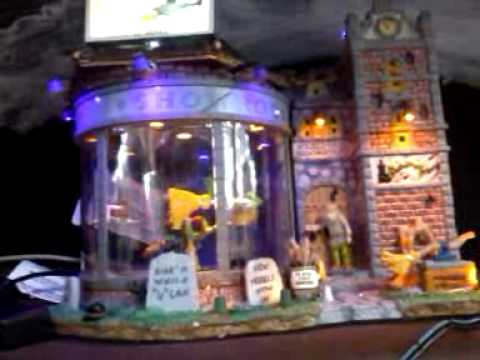 Spooky village at menards. - YouTube