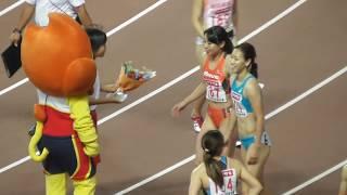 2017日本陸上選手権 女子100m決勝