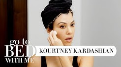 Kourtney Kardashian's Nighttime Skincare Routine | Go To Bed With Me | Harper's BAZAAR