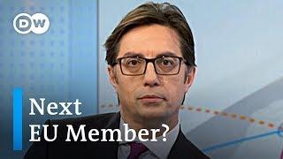 Will North Macedonia become the next EU member state? | Stevo Pendarovski Interview