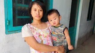 Cô gái ôm bụng bầu 7 tháng nuôi thêm con 1 tuổi không cơm ăn, bị cha mẹ bỏ rơi