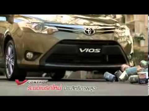 โฆษณา ใหม่ Toyota new Vios 2013 แคมเปญ Vios V control