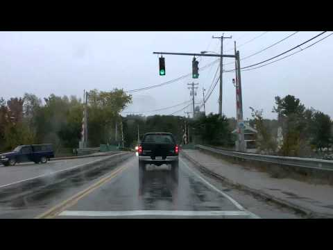 Across Maine: US 302 N.Conway, NH to Portland, ME