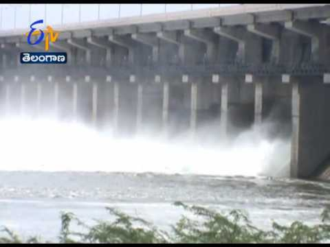 Yellampalli Project Water Level Massively Increased:  Gates Lifted