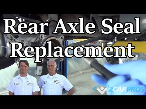 HOW TO REPLACE A REAR AXLE SEAL!  -Toyota 4Runner 1996-2002
