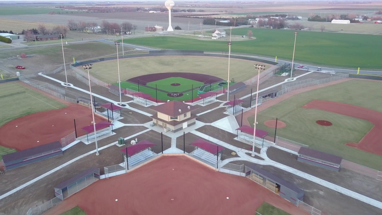 Buhler baseball field flyover youtube buhler baseball field flyover malvernweather Images
