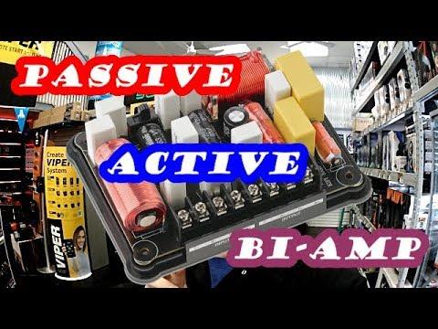 Passive Active Bi Amp Youtube