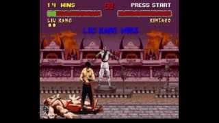 Mortal Kombat II (Snes) Liu Kang Gameplay