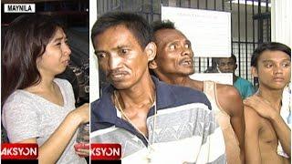 3 lalaki, arestado matapos holdapin ang 2 estudyante sa Maynila