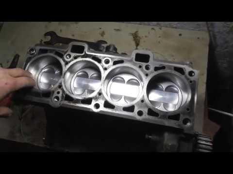 Прислали двигатель Приоры на ремонт с Алтайского края 2 часть
