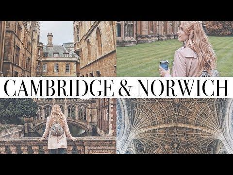 ENGLAND TRIP DAY1. - CAMBRIDGE & NORWICH