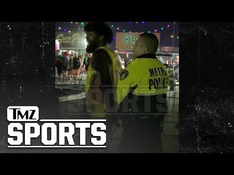 Woody Johnson - Ezekiel Elliott Got Put In Handcuffs After An Altercation at Music Festival