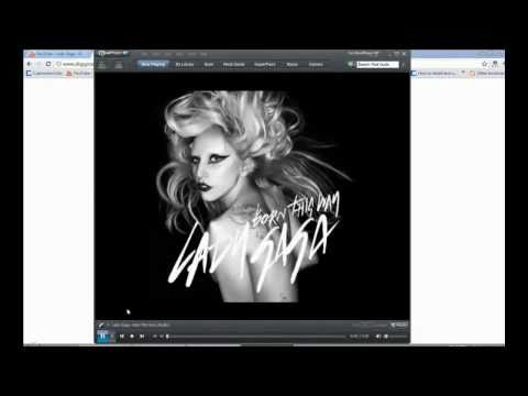 lady gaga i was born this way * official mp3 download HD