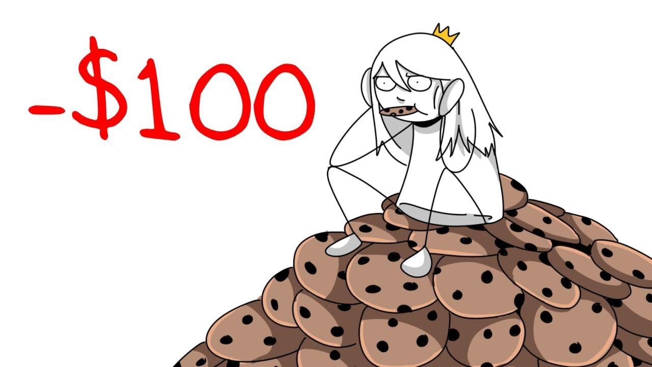 Rompiendo $100 en galletitas (Historias de Compañeras de cuarto) / Tabbes [Español Latino]