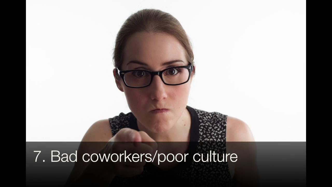 top 10 reasons people hate their jobs - Reasons Why People Hate Their Jobs