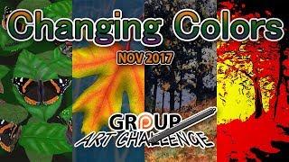 November 2017 Group Art Challenge Submissions - #AArtChallenge