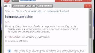 Definición de inmunosupresión